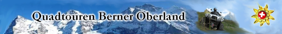 Quadtouren im Berner Oberland